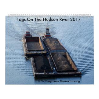 Tugs On The Hudson River 2017-100% Coeymans Marine Calendar