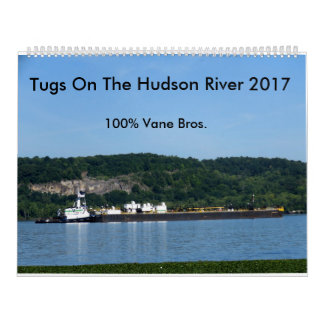 Tugs On The Hudson River 2017---100% Vane Brothers Calendar