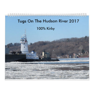 Tugs On The Hudson River 2017 Calendar