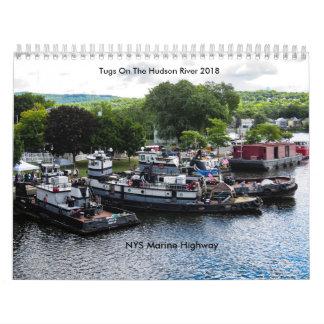 Tugs On The Hudson River 2018-NYS Marine Highway Calendar