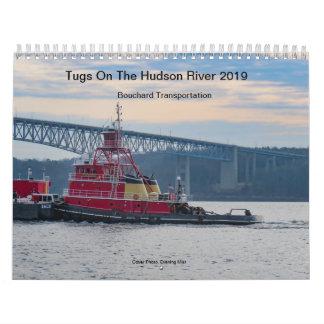 Tugs On The Hudson River 2019 Bouchard Calendar