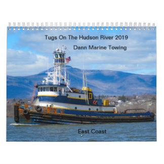 Tugs On The Hudson River 2019 Dann Marine Towing Calendar