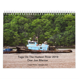 Tugs On The Hudson River 2019 Don Jon Marine Calendar