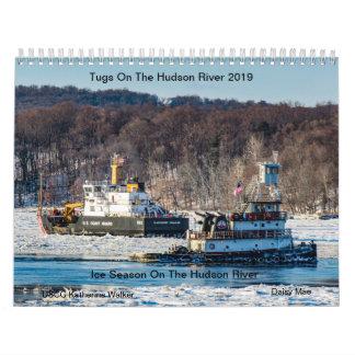 Tugs On The Hudson River 2019 Ice Season Calendar