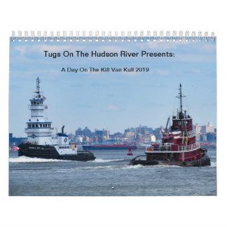 Tugs On The Hudson River 2019 KVK Calendar