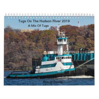 Tugs On The Hudson River 2019 Mix Of Tugs Calendar