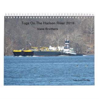 Tugs On The Hudson River 2019 Vane Brothers Calendar