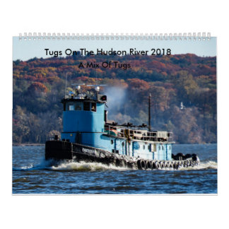 Tugs On The Hudson River-A Mix Of Tugs 2018 Calendar