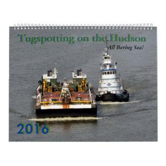 Tugspotting All Bering Sea 2016 calendar