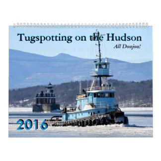 Tugspotting Donjon 2016 Calendar