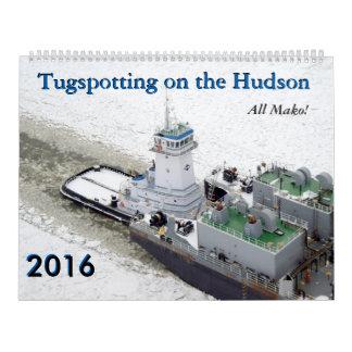 Tugspotting en el Hudson: ¡Todo el Mako! Calendario