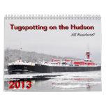 Tugspotting on the Hudson 2013: All Bouchard Wall Calendar