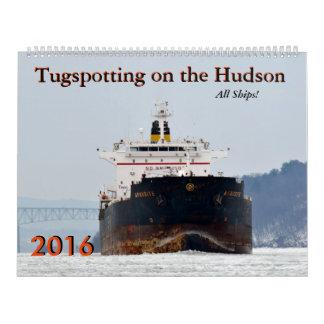 Tugspotting on the Hudson 2016: All Ships! Calendar