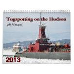 Tugspotting on the Hudson--all Moran Wall Calendars