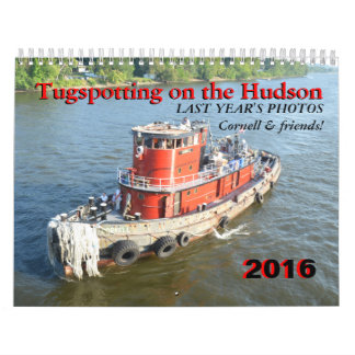 Tugspotting on the Hudson Calendar