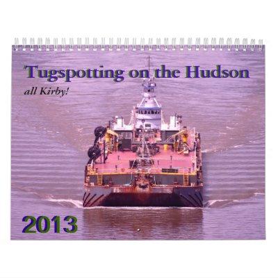 Tugspotting on the Hudson--Kirby Wall Calendars