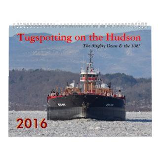 Tugspotting on the Hudson Mighty Dean Calendar