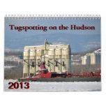 Tugspotting on the Hudson--Mixed Tugs Wall Calendars