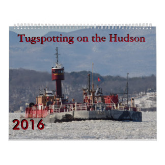 Tugspotting on the Hudson Mixed Tugs Calendar