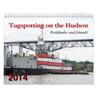Tugspotting on the Hudson: Pathfinder & Friends Calendar