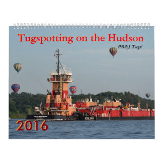 Tugspotting PB&J Tugs! Calendar