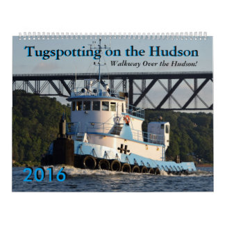 Tugspotting Walkway 2016 calendar