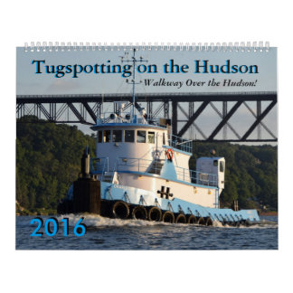 Tugspotting: Walkway Over the Hudson Calendar