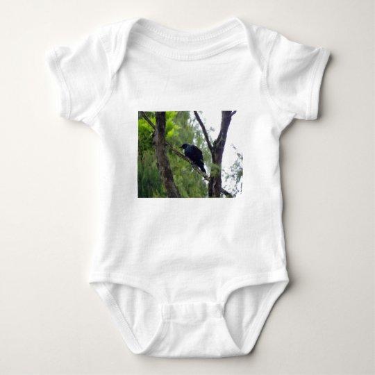 Tui in Rimu Tree Baby Bodysuit