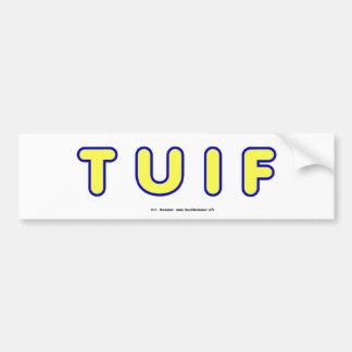 TUIF2 BUMPER STICKER