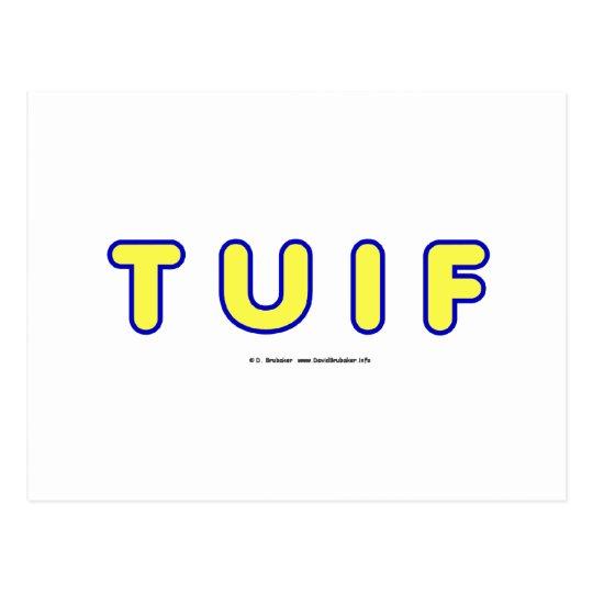 TUIF2 POSTCARD