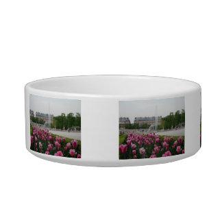 Tuileries Garden in bloom Cat Food Bowls