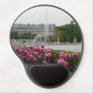Tuileries Garden in bloom Gel Mouse Pad