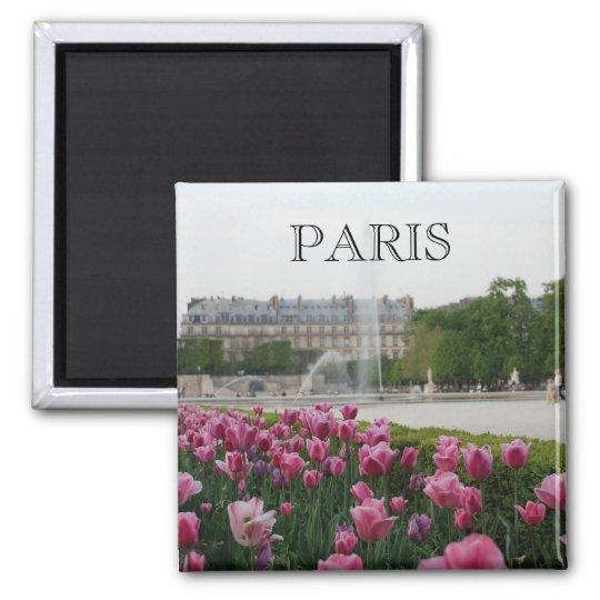 Tuileries Garden in bloom Magnet