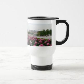 Tuileries Garden in bloom 15 Oz Stainless Steel Travel Mug