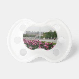 Tuileries Garden in bloom Pacifier