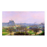 Tuileries Gardens in Paris art by Camille Pissarro Double-Sided Standard Business Cards (Pack Of 100)