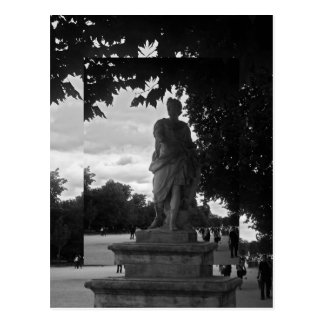 Tuileries y el emperador tarjeta postal