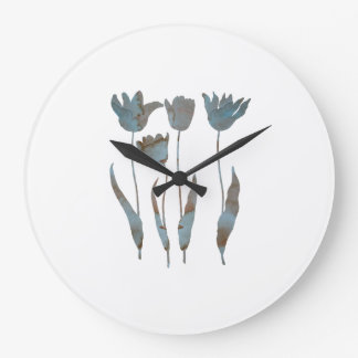 Tuilps Large Clock