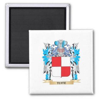 Tuite Coat of Arms - Family Crest Fridge Magnet