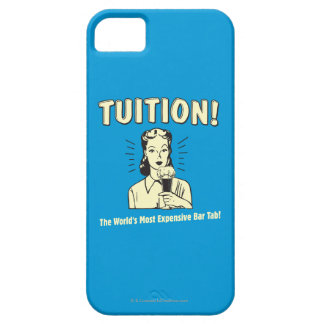 Tuition: Most Expensive Bar Tab iPhone 5 Cover