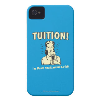 Tuition: Most Expensive Bar Tab iPhone 4 Cover