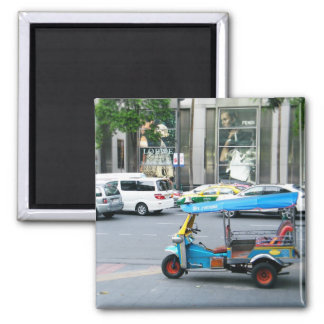 Tuk Tuk 2 Inch Square Magnet