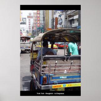 Tuk Tuk Bangkok Poster