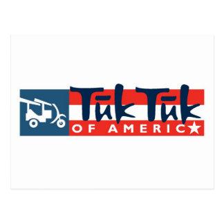 Tuk Tuk of America Logo Postcard