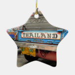 Tuk-tuk taxi Bangkok Thailand Christmas Ornament