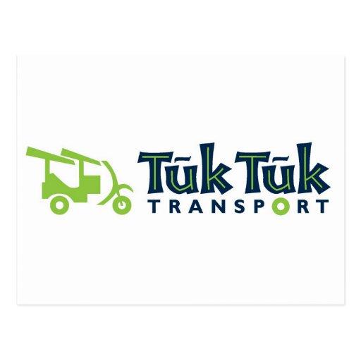 Tuk Tuk Transport Postcard