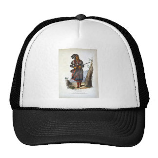 Tuko-See Mathla A Seminole Chief Trucker Hat