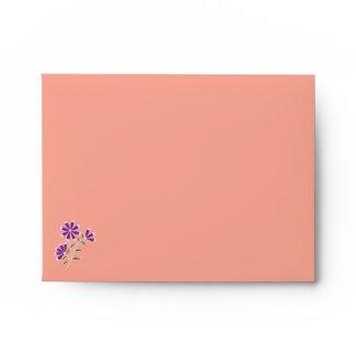 Tula Floral Batik A2 Note Card Envelope
