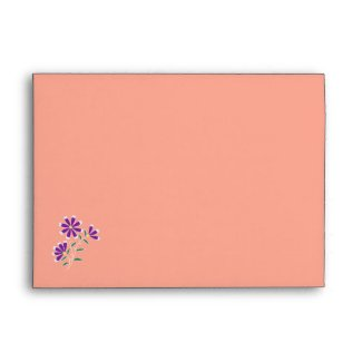 Tula Floral Batik A7 Envelope