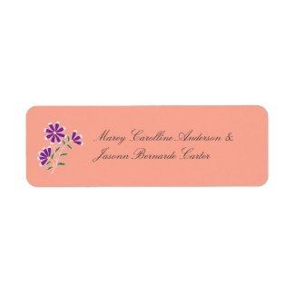 Tula Floral Batik Bride & Groom Sticker
